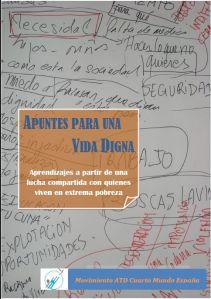 Resumen de las principales claves para la construcción de alternativas para una vida digna trabajadas en el periodo 2012-2014.