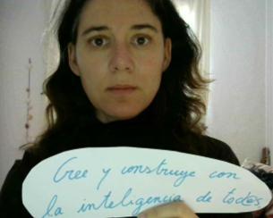 """""""Estoy convencida de que una sociedad para todos y todas la debemos construir juntos"""" - Marta"""