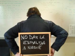 """""""Uno de los objetivos de @ATD4MundoEsp es no dar la espalda a nadie"""" Alfonso"""
