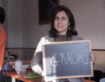 """""""Yo apoyo a ATD Cuarto Mundo porque nos humaniza con otros"""" - Eva"""
