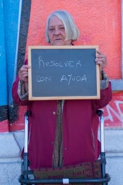 """""""Apoyo a ATD Cuarto Mundo porque creo que hay que resolver lo antes posible con ayuda de los demás y en beneficio de las personas necesitadas, sin dejarlo para mañana"""" - Mery Anne"""