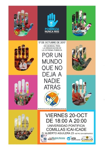 Cartel 17 Octubre 2017 Madrid